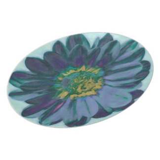 Flora 4 melamine dinnerware plate. plates