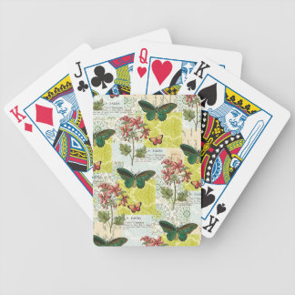 Flora and Fauna Bicycle Playing Cards