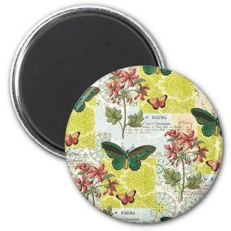 Flora and Fauna Magnet