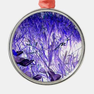 Flora and fauna metal ornament
