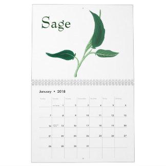 Flora calendar