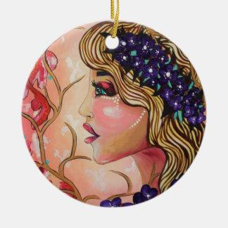 Flora Ceramic Ornament