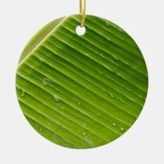 Flora Dominica 1 Round Ceramic Ornament