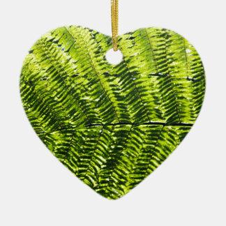 Flora Dominica 5 Ceramic Heart Ornament