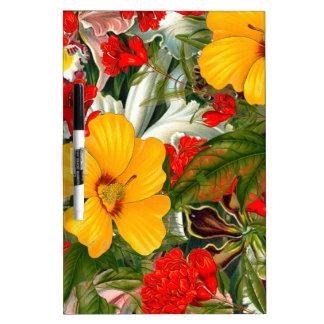 flora dry erase board