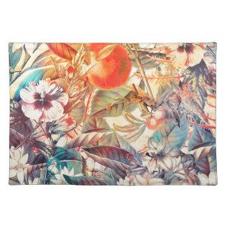 flora flowers placemat