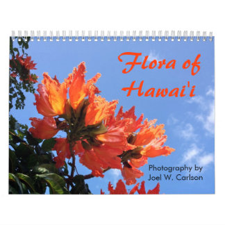 Flora of Hawai'i Calendar
