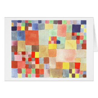 Flora on Sand by Paul Klee Card