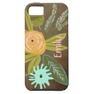 Flora Personalized iphone 5S Phone case Case For The iPhone 5