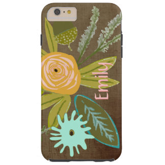 Flora Personalized iphone 6 Phone case Tough iPhone 6 Plus Case