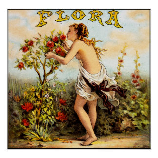 Flora Tobacco Poster
