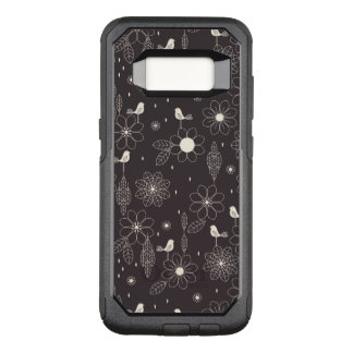 Floral 2 OtterBox commuter samsung galaxy s8 case