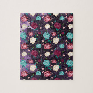 """""""Floral"""" 8x10 Photo Puzzle with Gift Box"""