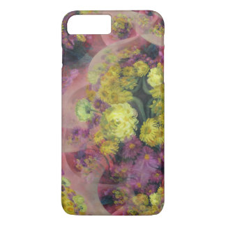 Floral abstract design  phone case