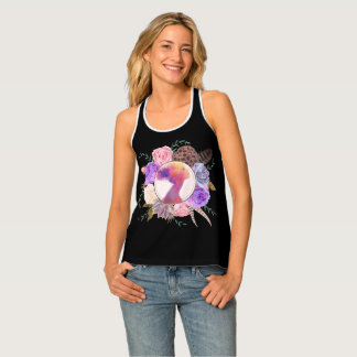 Floral Abstract Dreamer Tank Top