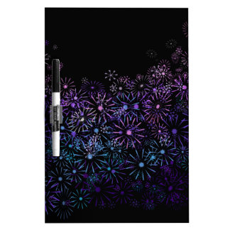 Floral abstract. dry erase board