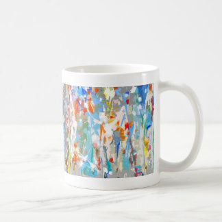 Floral Abstract. Coffee Mugs