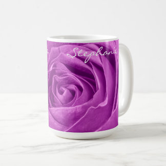 Floral Abstract Photography - Orchid Rose Coffee Mug