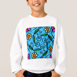 Floral Abstract Sweatshirt