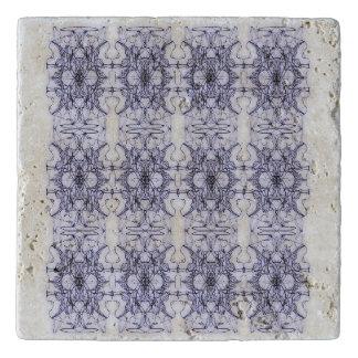 Floral abstraction trivet