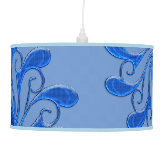 Floral Adornment Hanging Lamps