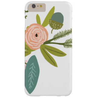 Floral and Fauna Barely There iPhone 6 Plus Case