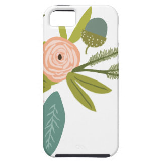Floral and Fauna iPhone 5 Case