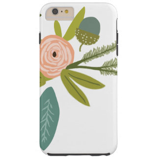 Floral and Fauna Tough iPhone 6 Plus Case