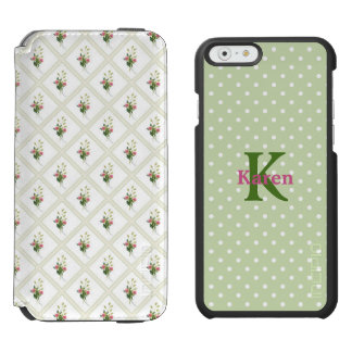 Floral and Polka Dot iPhone 6S Wallet Case Incipio Watson™ iPhone 6 Wallet Case