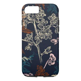 Floral Apple iPhone 7, Tough Phone Case