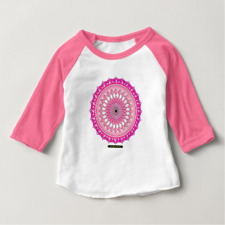 Floral Arc Reactor Baby T-Shirt