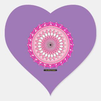 Floral Arc Reactor Heart Sticker