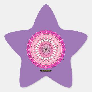 Floral Arc Reactor Star Sticker