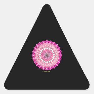 Floral Arc Reactor Triangle Sticker