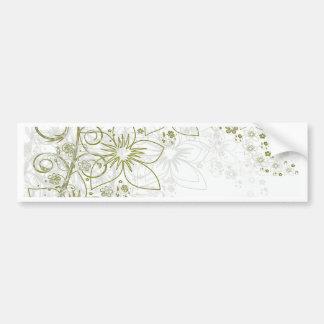 Floral Art Bumper Stickers