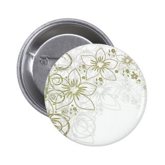Floral Art Buttons