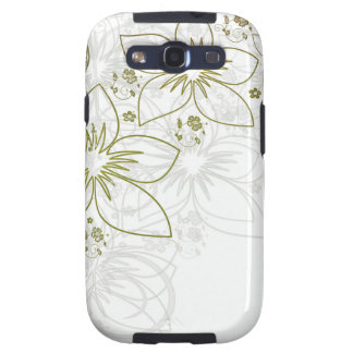 Floral Art Samsung Galaxy SIII Cover