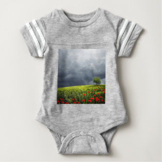 Floral, Art, Design, Beautiful, New, Fashion, Crea Baby Bodysuit