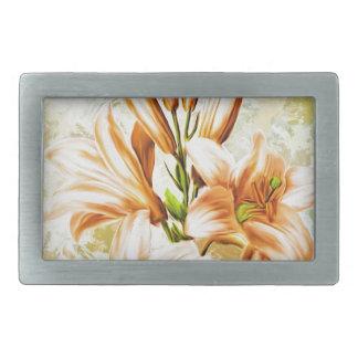Floral, Art, Design, Beautiful, New, Fashion, Crea Belt Buckle