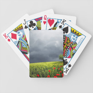 Floral, Art, Design, Beautiful, New, Fashion, Crea Bicycle Playing Cards