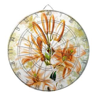 Floral, Art, Design, Beautiful, New, Fashion, Crea Dartboard
