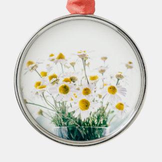 Floral, Art, Design, Beautiful, New, Fashion, Crea Metal Ornament