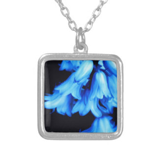 Floral, Art, Design, Beautiful, New, Fashion, Crea Silver Plated Necklace