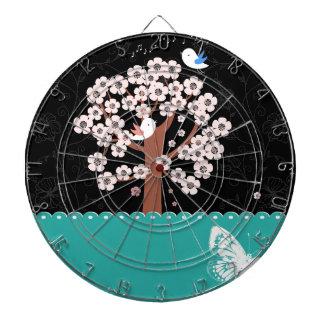 Floral, Art, Design, Beautiful, New, Fashion Dartboard
