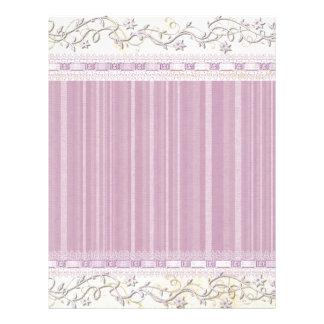 Floral, Art, Design, Beautiful, New, Fashion Letterhead
