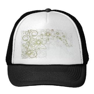 Floral Art Mesh Hat