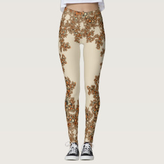 Floral Art Leggings