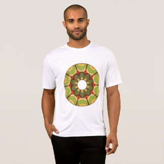 Floral Art Mens Active Tee