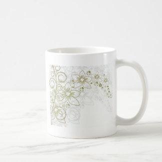 Floral Art Coffee Mug