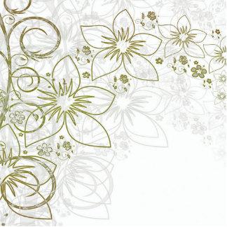 Floral Art Photo Cutout